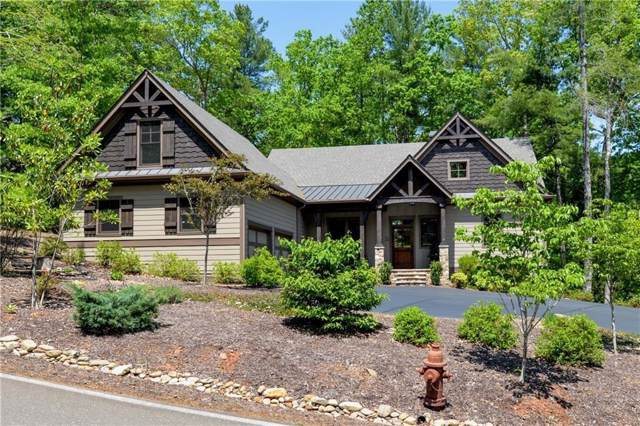 520 Choctaw Pass, Big Canoe, GA 30143 (MLS #6645044) :: Charlie Ballard Real Estate