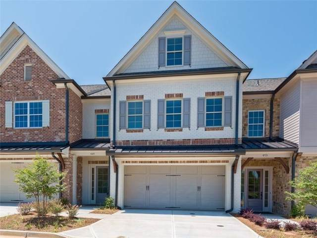 529 NW Springer Bend #52, Marietta, GA 30060 (MLS #6645456) :: Kennesaw Life Real Estate