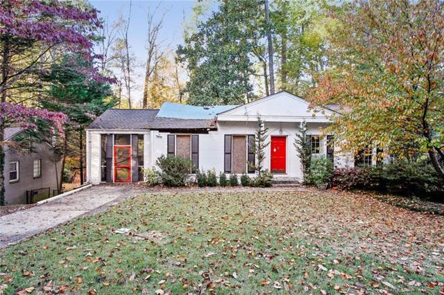 386 Allison Drive NE, Atlanta, GA 30342 (MLS #6645633) :: The North Georgia Group