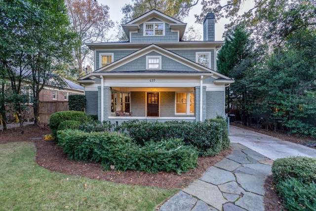 639 Cumberland Road NE, Atlanta, GA 30306 (MLS #6646259) :: Dillard and Company Realty Group