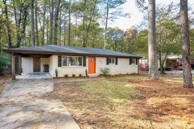 4311 Creek Valley Court SW, Atlanta, GA 30331 (MLS #6646527) :: North Atlanta Home Team