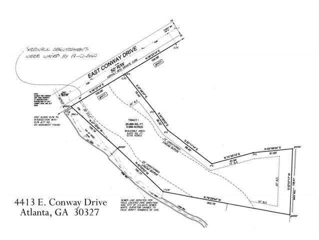 4413 E Conway Drive NW, Atlanta, GA 30327 (MLS #6647403) :: The Zac Team @ RE/MAX Metro Atlanta