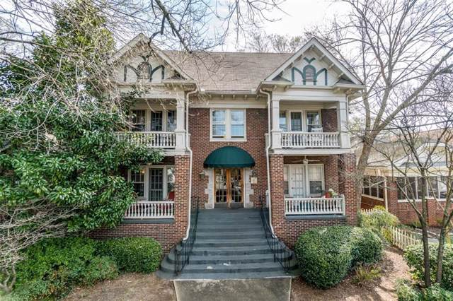 1071 N Highland Avenue #2, Atlanta, GA 30306 (MLS #6648029) :: The Hinsons - Mike Hinson & Harriet Hinson