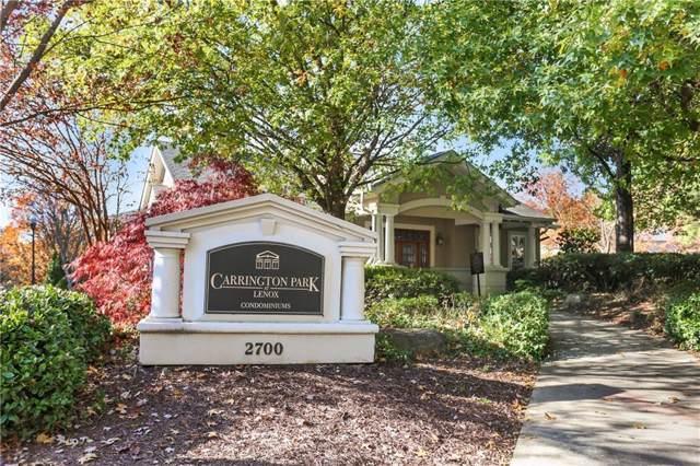 2700 Pine Tree Road NE #2303, Atlanta, GA 30324 (MLS #6648552) :: Charlie Ballard Real Estate