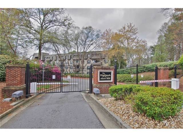 1103 Highland Bluff Drive SE #103, Atlanta, GA 30339 (MLS #6650013) :: The Zac Team @ RE/MAX Metro Atlanta