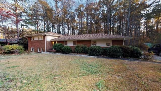 452 Lakeshore Drive, Fayetteville, GA 30214 (MLS #6650831) :: The North Georgia Group