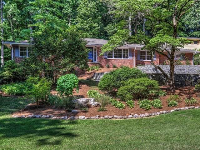 1054 Mason Woods Drive, Atlanta, GA 30329 (MLS #6651640) :: North Atlanta Home Team