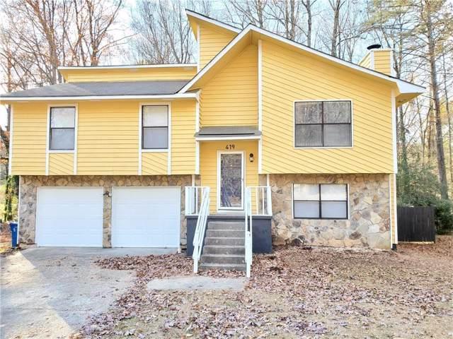 419 Park Ridge Circle, Riverdale, GA 30274 (MLS #6651951) :: North Atlanta Home Team