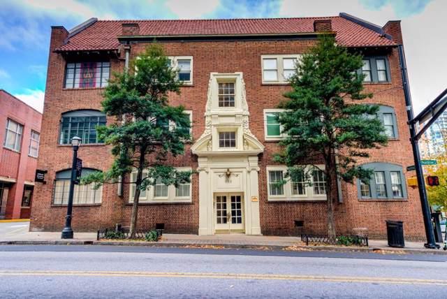 952 Peachtree Street NE #4, Atlanta, GA 30309 (MLS #6653919) :: The Hinsons - Mike Hinson & Harriet Hinson