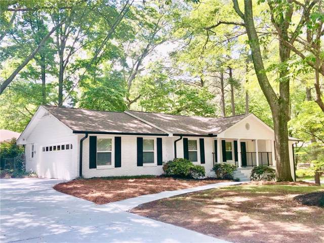 2110 Ladovie Lane NE, Atlanta, GA 30345 (MLS #6654977) :: Path & Post Real Estate