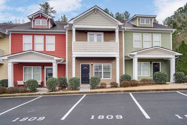 1809 Brookside Lay Circle #1809, Norcross, GA 30093 (MLS #6655612) :: North Atlanta Home Team