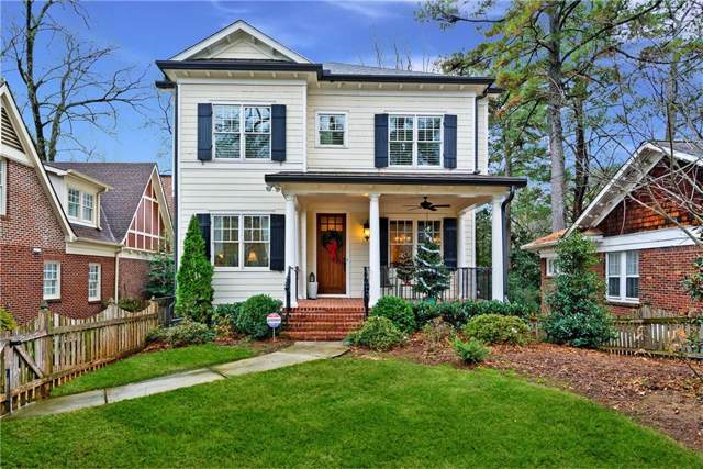 161 Ridgeland Way NE, Atlanta, GA 30305 (MLS #6655645) :: North Atlanta Home Team