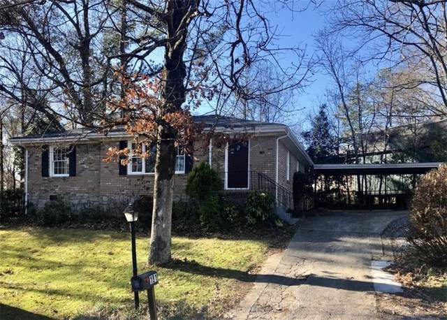181 Bishop Drive, Marietta, GA 30060 (MLS #6655984) :: The Heyl Group at Keller Williams