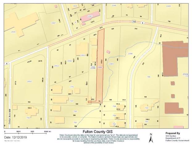2388 Donald Lee Hollowell Parkway NW, Atlanta, GA 30318 (MLS #6656074) :: Rock River Realty
