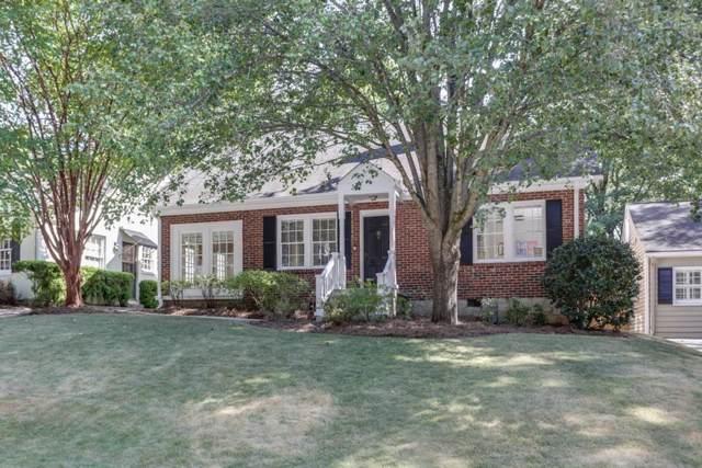 2395 Hurst Drive NE, Atlanta, GA 30305 (MLS #6656092) :: Scott Fine Homes