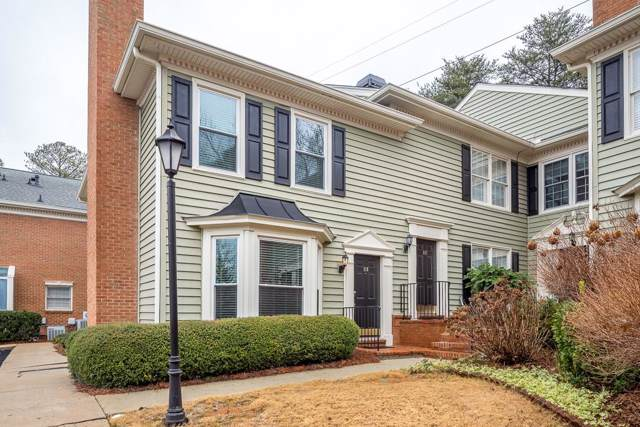 118 Mount Vernon Circle #118, Sandy Springs, GA 30338 (MLS #6661422) :: Kennesaw Life Real Estate