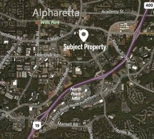 0 Haynes Bridge Road, Alpharetta, GA 30009 (MLS #6662835) :: RE/MAX Prestige