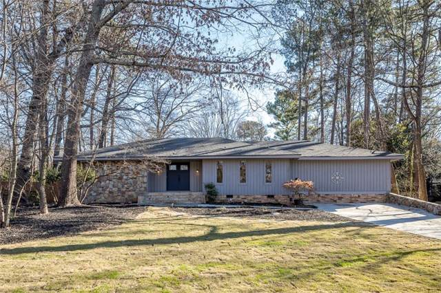 1029 Winding Branch Lane, Dunwoody, GA 30338 (MLS #6663744) :: North Atlanta Home Team