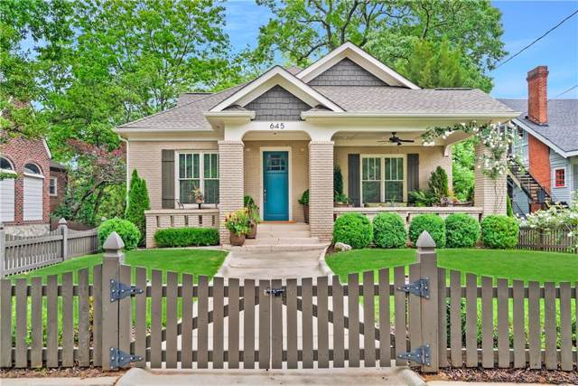 645 Seminole Avenue NE, Atlanta, GA 30307 (MLS #6665130) :: The Heyl Group at Keller Williams