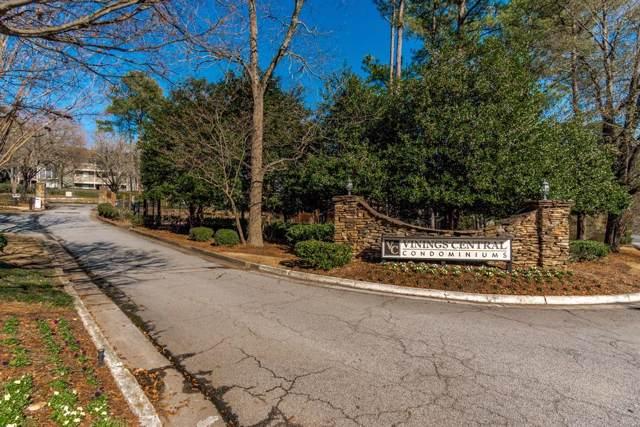 2619 Vinings Central Drive #52, Atlanta, GA 30339 (MLS #6665303) :: The North Georgia Group
