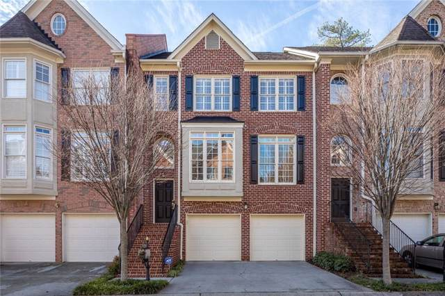 1295 Dunwoody Cove, Dunwoody, GA 30338 (MLS #6665990) :: The North Georgia Group