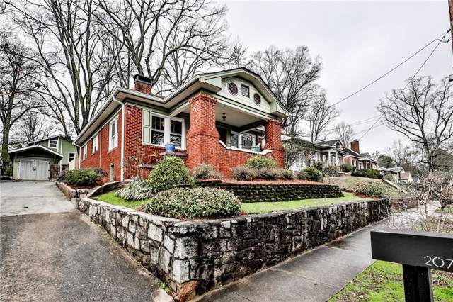 207 Lucerne Street, Decatur, GA 30030 (MLS #6666070) :: North Atlanta Home Team