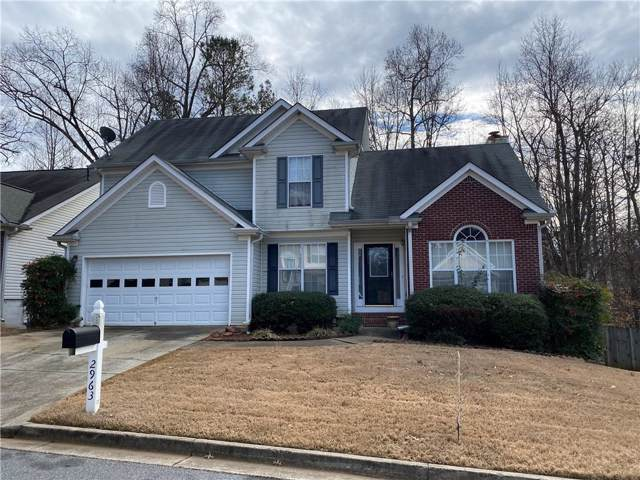 2963 Albright Commons NW, Kennesaw, GA 30144 (MLS #6666432) :: North Atlanta Home Team