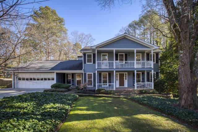 205 Stone Mill Trail, Sandy Springs, GA 30328 (MLS #6666723) :: Charlie Ballard Real Estate
