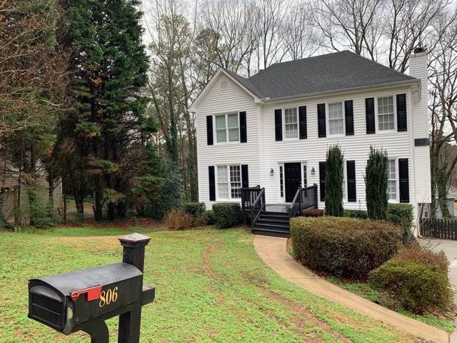 806 Arbor Forest Place SW, Marietta, GA 30064 (MLS #6667222) :: The Heyl Group at Keller Williams
