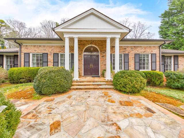 235 Forrest Lake Drive NW, Atlanta, GA 30327 (MLS #6667926) :: The Butler/Swayne Team