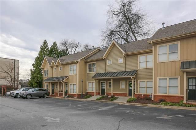 1516 Howell Mill Road NW #13, Atlanta, GA 30318 (MLS #6668070) :: KELLY+CO