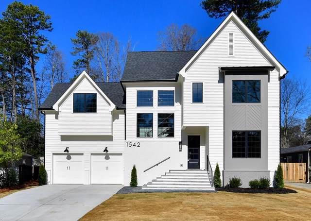 1542 Trentwood Place NE, Atlanta, GA 30319 (MLS #6668272) :: RE/MAX Paramount Properties