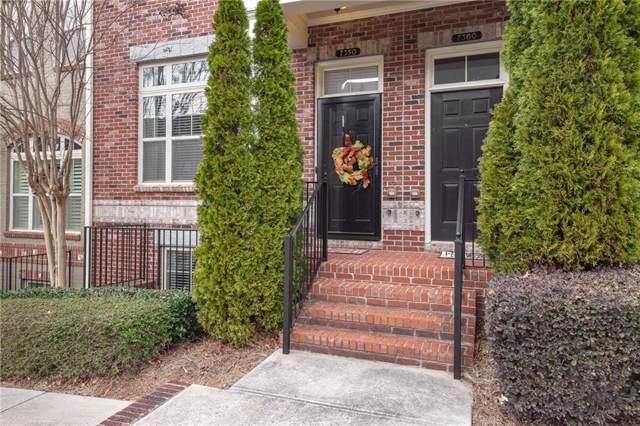 7350 Glisten Avenue #88, Atlanta, GA 30328 (MLS #6668856) :: The Cowan Connection Team