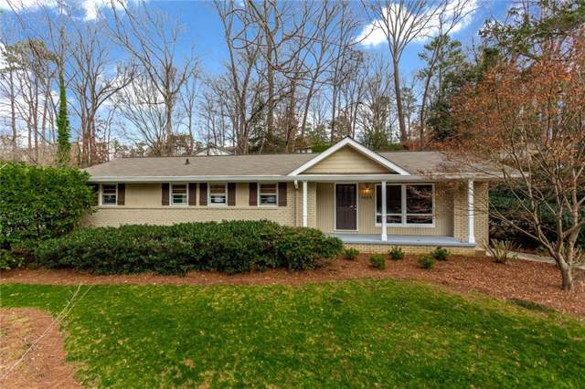 1404 Bubbling Creek Road NE, Brookhaven, GA 30319 (MLS #6668859) :: RE/MAX Paramount Properties