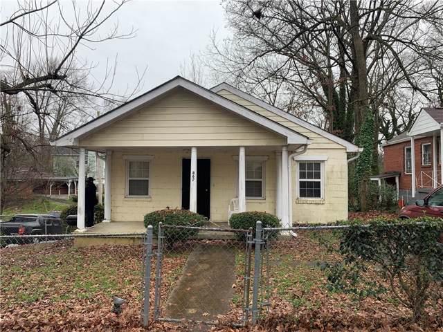 862 Neal Street NW, Atlanta, GA 30314 (MLS #6669439) :: The Hinsons - Mike Hinson & Harriet Hinson