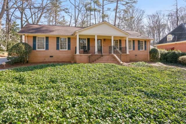1305 Old Woodbine Road, Sandy Springs, GA 30319 (MLS #6669740) :: Kennesaw Life Real Estate
