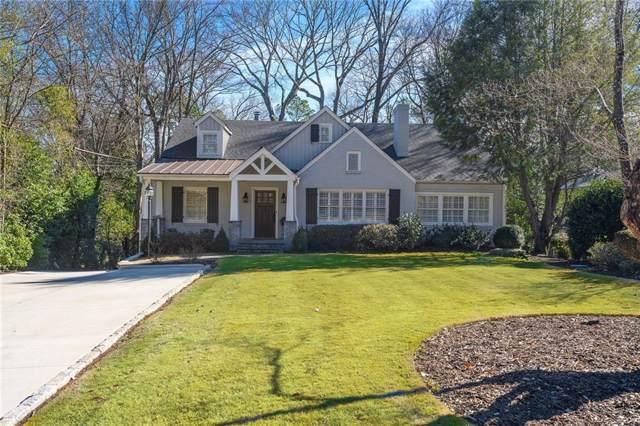 2707 Sharondale Drive NE, Atlanta, GA 30305 (MLS #6670188) :: RE/MAX Paramount Properties