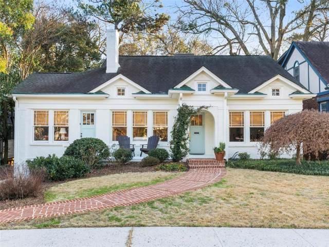681 Yorkshire Road NE, Atlanta, GA 30306 (MLS #6670530) :: RE/MAX Paramount Properties