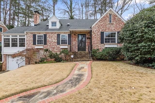 1245 Cumberland Road NE, Atlanta, GA 30306 (MLS #6670565) :: RE/MAX Paramount Properties