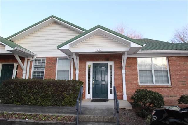 800 Kennesaw Avenue #230, Marietta, GA 30060 (MLS #6670781) :: Kennesaw Life Real Estate