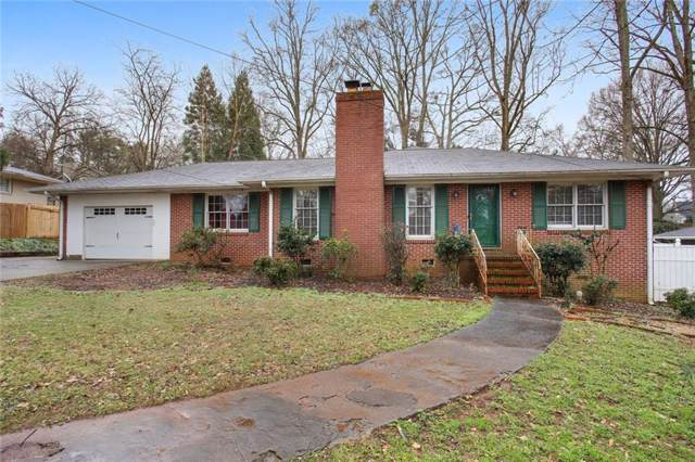 167 Atwood Drive NW, Marietta, GA 30064 (MLS #6671390) :: Kennesaw Life Real Estate