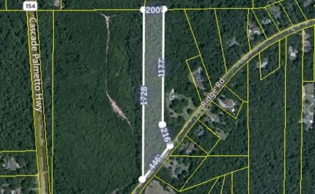0 Ridge Road, Fairburn, GA 30213 (MLS #6673492) :: Charlie Ballard Real Estate
