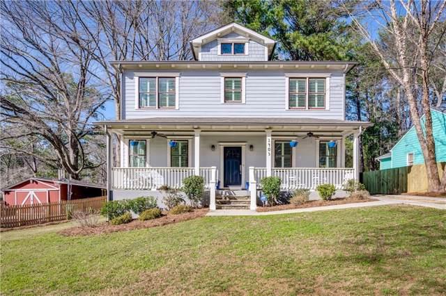 1403 Oldfield Road, Decatur, GA 30030 (MLS #6675934) :: Charlie Ballard Real Estate