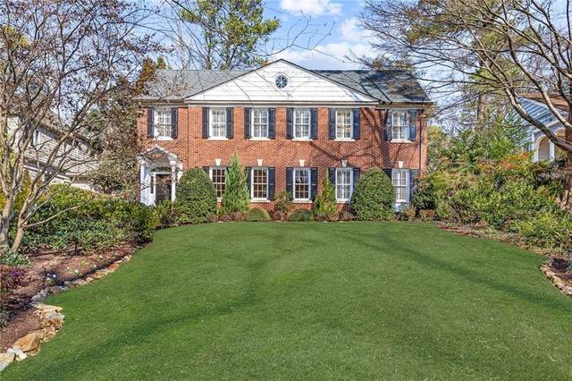 1100 Berkshire Road NE, Atlanta, GA 30306 (MLS #6676179) :: RE/MAX Paramount Properties