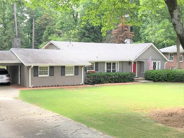 560 Carriage Drive, Sandy Springs, GA 30328 (MLS #6678794) :: MyKB Partners, A Real Estate Knowledge Base