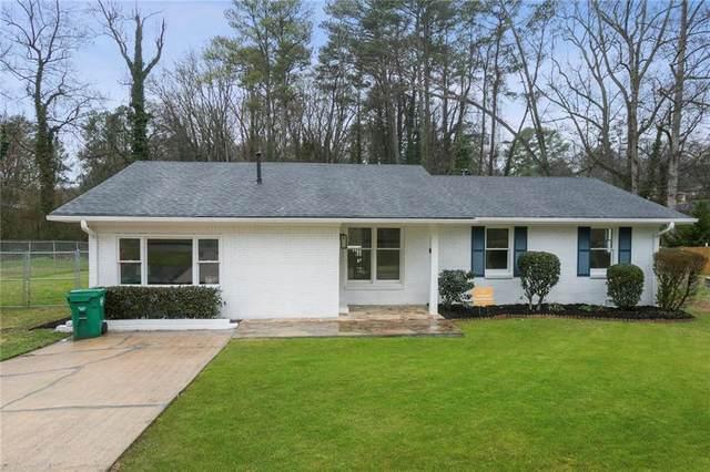 2340 N Eiffel Court, Decatur, GA 30032 (MLS #6681813) :: Kennesaw Life Real Estate