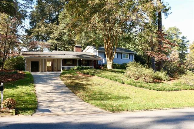 630 Carriage Drive, Sandy Springs, GA 30328 (MLS #6682357) :: MyKB Partners, A Real Estate Knowledge Base