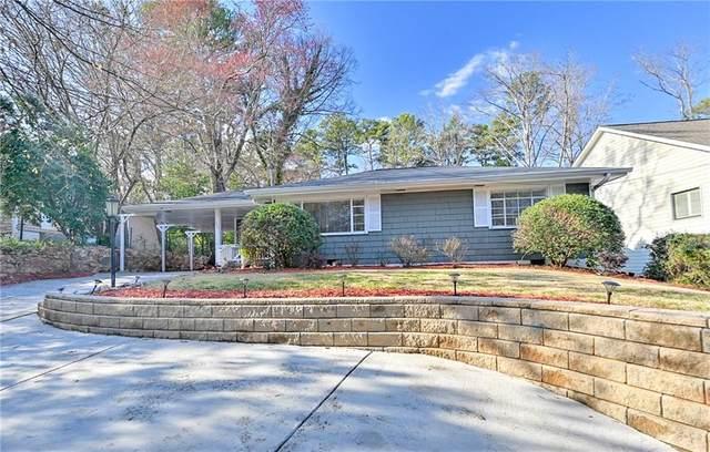 1692 Dresden Drive NE, Brookhaven, GA 30319 (MLS #6682435) :: North Atlanta Home Team