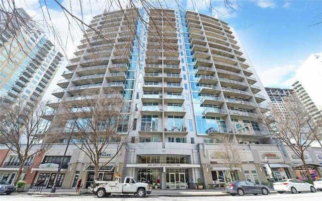 950 W Peachtree Street #1405, Atlanta, GA 30308 (MLS #6683603) :: Thomas Ramon Realty