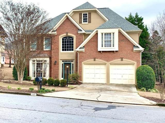 5460 Brooke Ridge Drive, Dunwoody, GA 30338 (MLS #6683994) :: The Realty Queen Team
